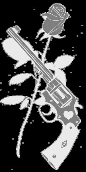Рушниця І Роза Білий