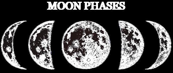 Фазы Луны Черный