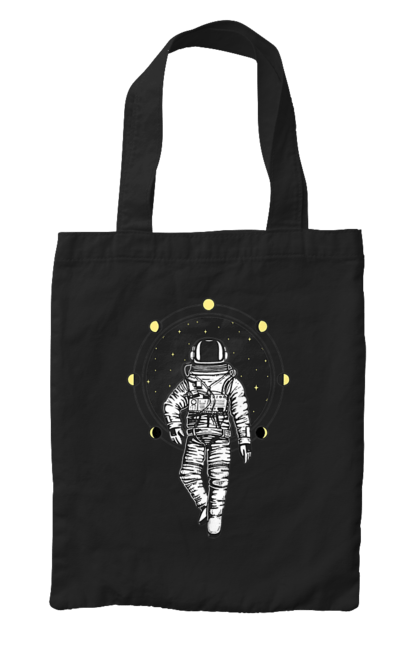Сумка з принтом Космонавт І Місяць. Космонавт, космос, місяць. CustomPrint.market