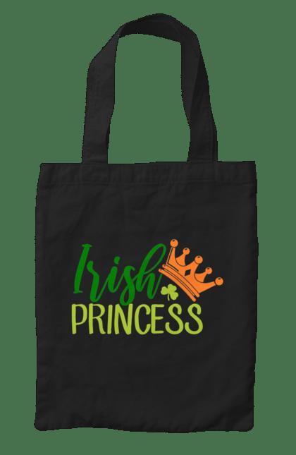 Сумка з принтом 15 01. Ірландець, корона, принцеса. CustomPrint.market