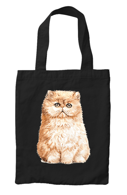 Сумка з принтом Руде котеня. Кіт, котеня, котик, рудий. CustomPrint.market