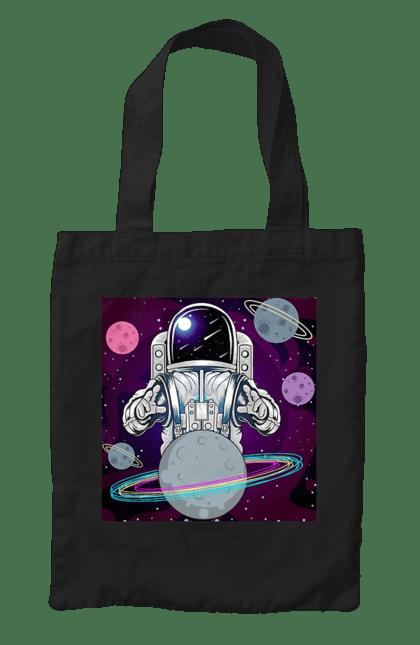 Сумка з принтом Космонавт І Планети. Космонавт, космос, планети. CustomPrint.market