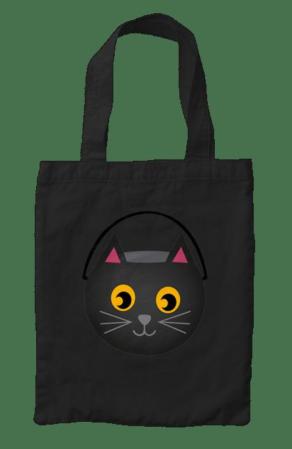 Сумка з принтом Сумка кіт. Кіт, сумка, хелловін. CustomPrint.market