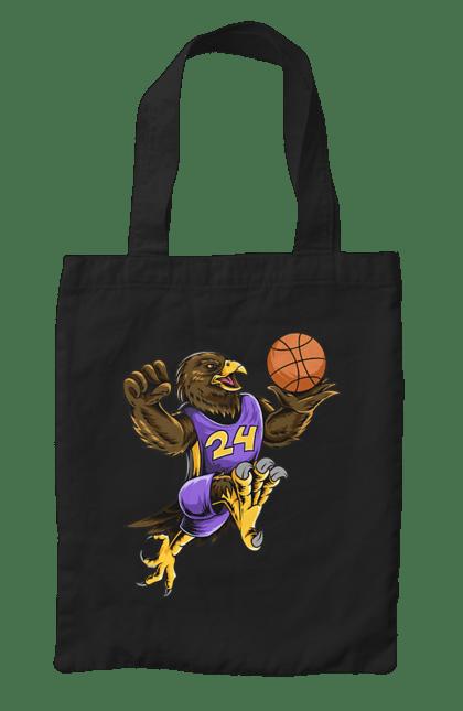 Сумка з принтом Орел Баскетболіст. Баскетболіст, орел, спорт, спортсмен. CustomPrint.market