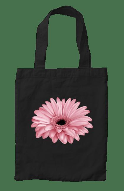 Сумка з принтом Рожева Квітка, Гербера. Гербера, квітка, рожева квітка. CustomPrint.market