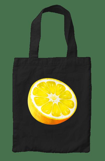 Сумка з принтом Половина лимона. Лимон, літо, свіжість. CustomPrint.market