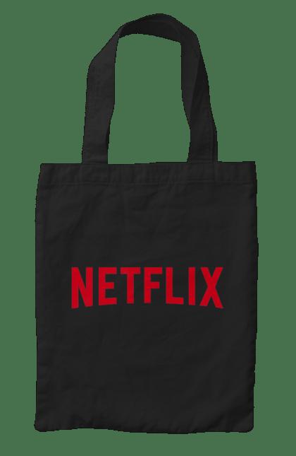Сумка з принтом Netflix CustomPrint.market