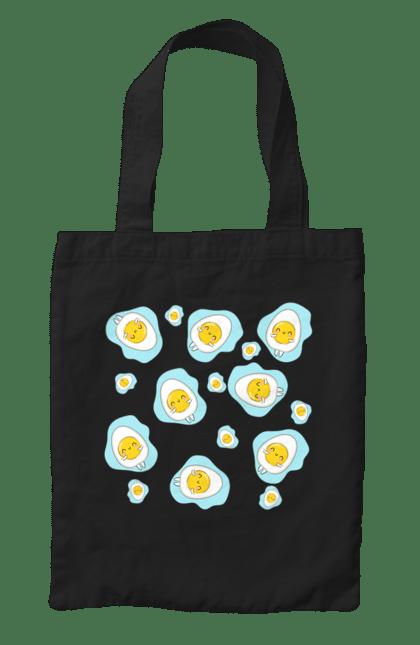 Сумка з принтом Миле Яйце. Мило, яйця.