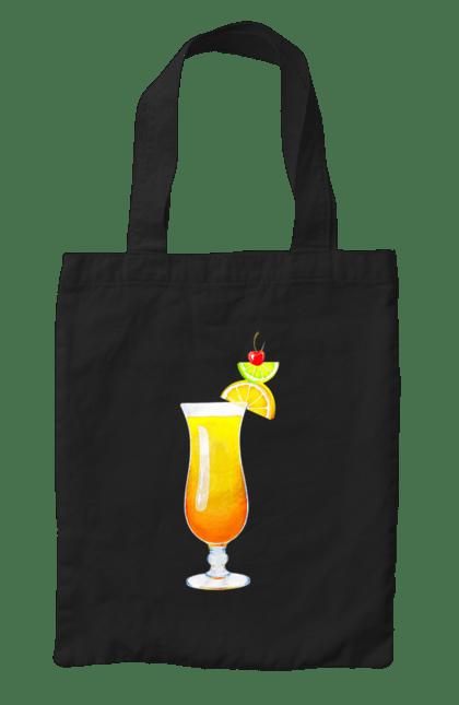 Сумка з принтом Манго коктейль. Алкоголь, бухлишко, коктейль, манго. CustomPrint.market