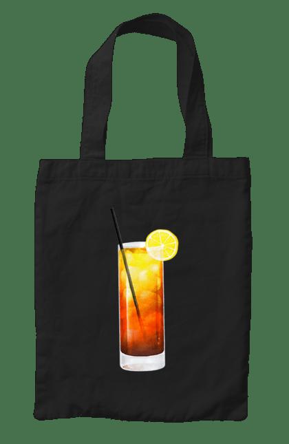 Сумка з принтом Май Тай. Алкоголь, коктейль, май тай. CustomPrint.market
