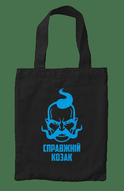 Сумка з принтом справжній козак. Козак, справжній, україна. CustomPrint.market