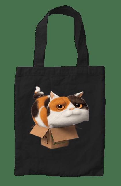 Сумка з принтом Кіт В Коробці. Кіт, коробка, тварина. CustomPrint.market