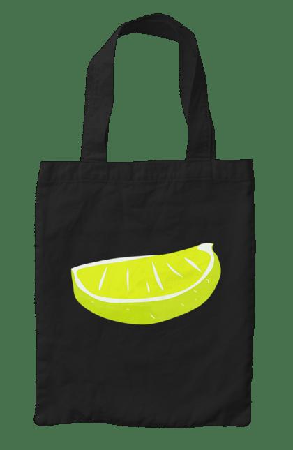 Сумка з принтом Часточка лимона. Жовтий, лимон, літо, часточка. CustomPrint.market