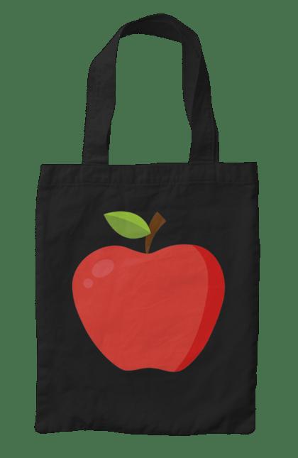 Сумка з принтом яблуко. Дитина, дочка, плід, син, сімейні, яблуко. CustomPrint.market