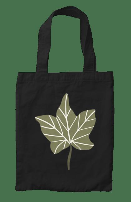 Сумка з принтом Каштан 2. Каштан, рослина. CustomPrint.market