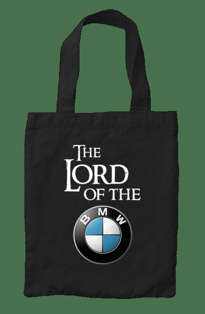 Сумка з принтом The lord of the BMW white. Бмв, гра престолів. CustomPrint.market