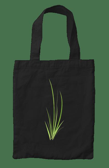 Сумка з принтом Трава. Рослина, трава, травичка. CustomPrint.market