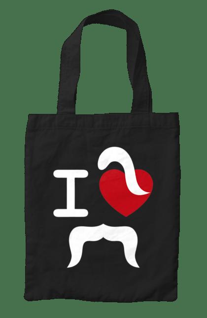 Сумка з принтом козак серце. Козак, кохання, серце. CustomPrint.market
