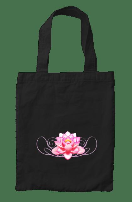 Сумка з принтом Магнолія. Квітка, квіточка, магнолія. CustomPrint.market
