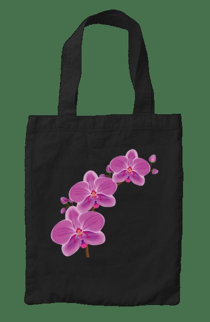 Сумка з принтом Гілка Орхідеї. Квітка, орхідея. CustomPrint.market