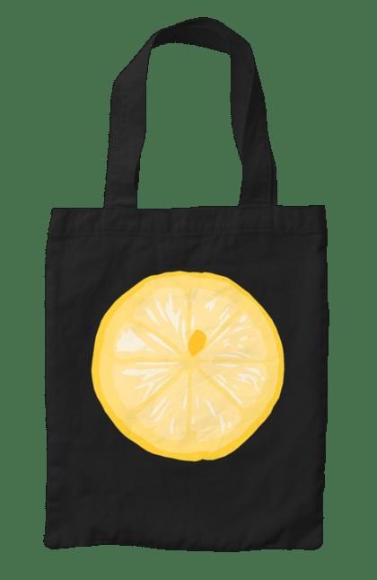 Сумка з принтом Круглий лимон. Лето, лимон. CustomPrint.market