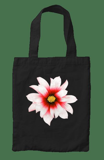 Сумка з принтом Червона квітка 2. Квітка, квіточка, червоний. CustomPrint.market