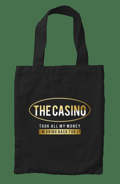 Сумка з принтом The Casino. Гроші, казино, карти, покер. CustomPrint.market