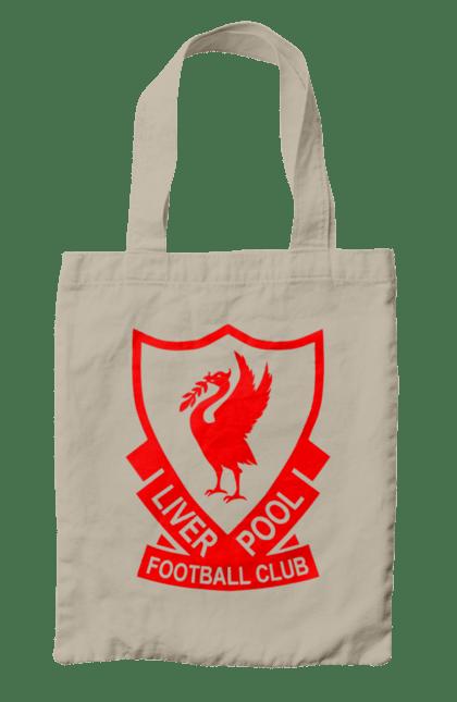 Сумка з принтом Ліверпуль. L.f.c., футбол. BlackLine