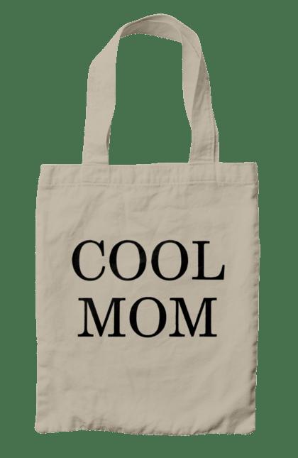 Сумка з принтом крута мама. Крута, мати, сімейні. CustomPrint.market