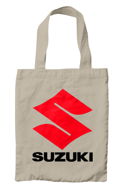 Сумка з принтом Suzuki. Авто, логотип, машина, сузукі. CustomPrint.market