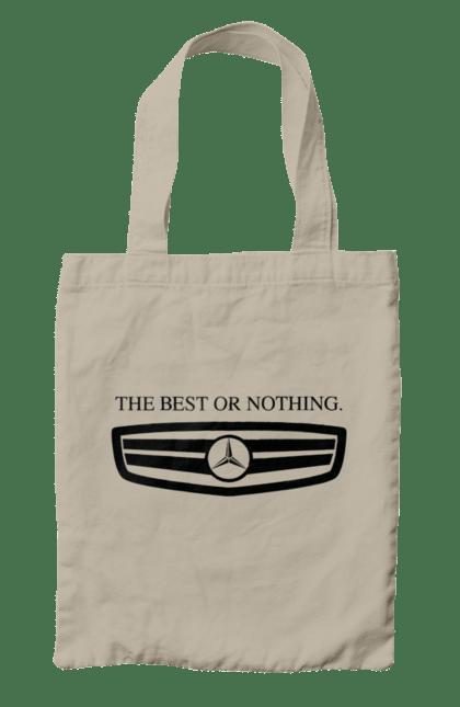 Сумка з принтом The best or nothing. Mercedes, машини, мерседес. CustomPrint.market