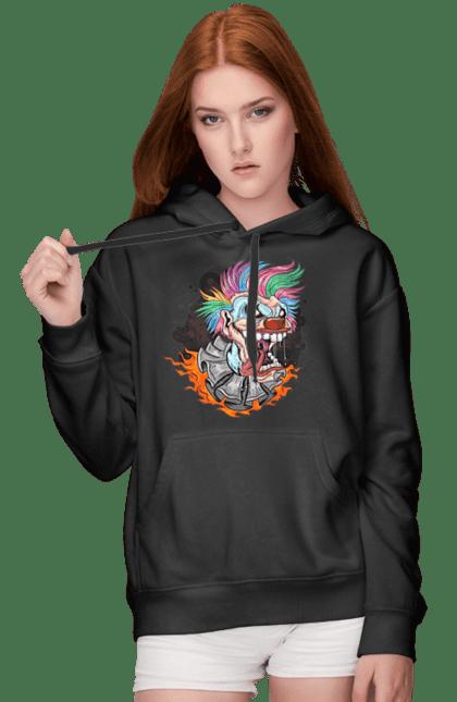 Жіноче худі з принтом Клоун Джокер CustomPrint.market