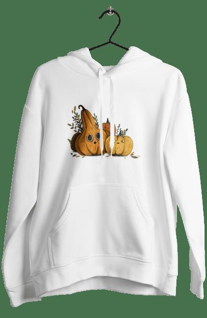 Жіноче худі з принтом Гарбуз. Гарбуз, оранжевый, осень, осінь, помаранчевий, тыква, тыква, урожай, хелоуин, хелоуін, шопер. CustomPrint.market