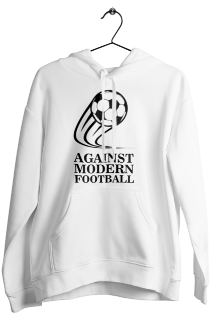 Жіноче худі з принтом Модерн футбол BlackLine
