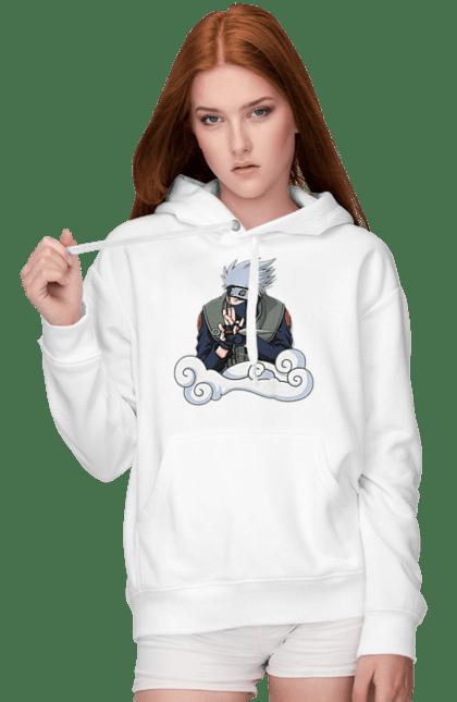 Жіноче худі з принтом Какаши. Аниме, итачи, Какаши, подарок, саске. CustomPrint.market