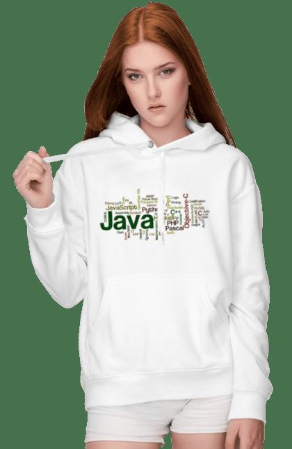 Жіноче худі з принтом Програми Програміста. День програміста, програма, програміст. BlackLine