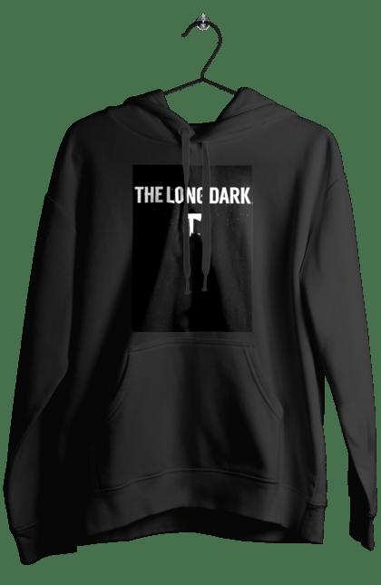 Чоловіче худі з принтом The Long Dark. The Long Dark, атрибутика, игры, простое, черный цвет. CustomPrint.market