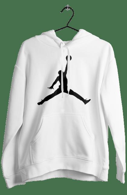 Чоловіче худі з принтом Jordan. Jordan, бренд, гра, джордан. CustomPrint.market