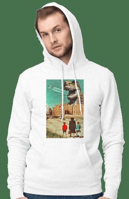 Картина Динозавр І Місто