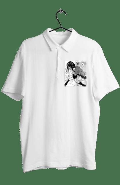 Поло чоловіче з принтом Аниме Хентай Ахегао. Аниме, ахегао, подарок, футболка, хентай, худи, шоппер. CustomPrint.market