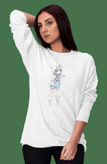 Світшот жіночий з принтом Лоли CustomPrint.market