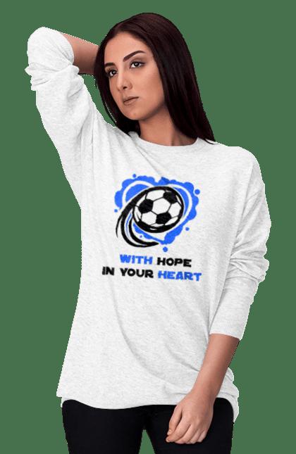 Футбол в серці синій