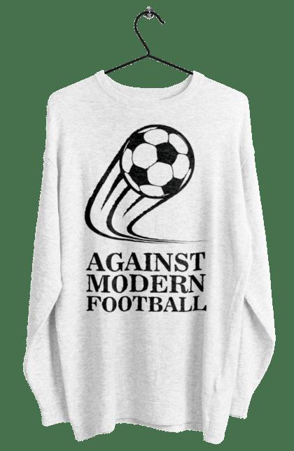 Світшот жіночий з принтом Модерн футбол BlackLine