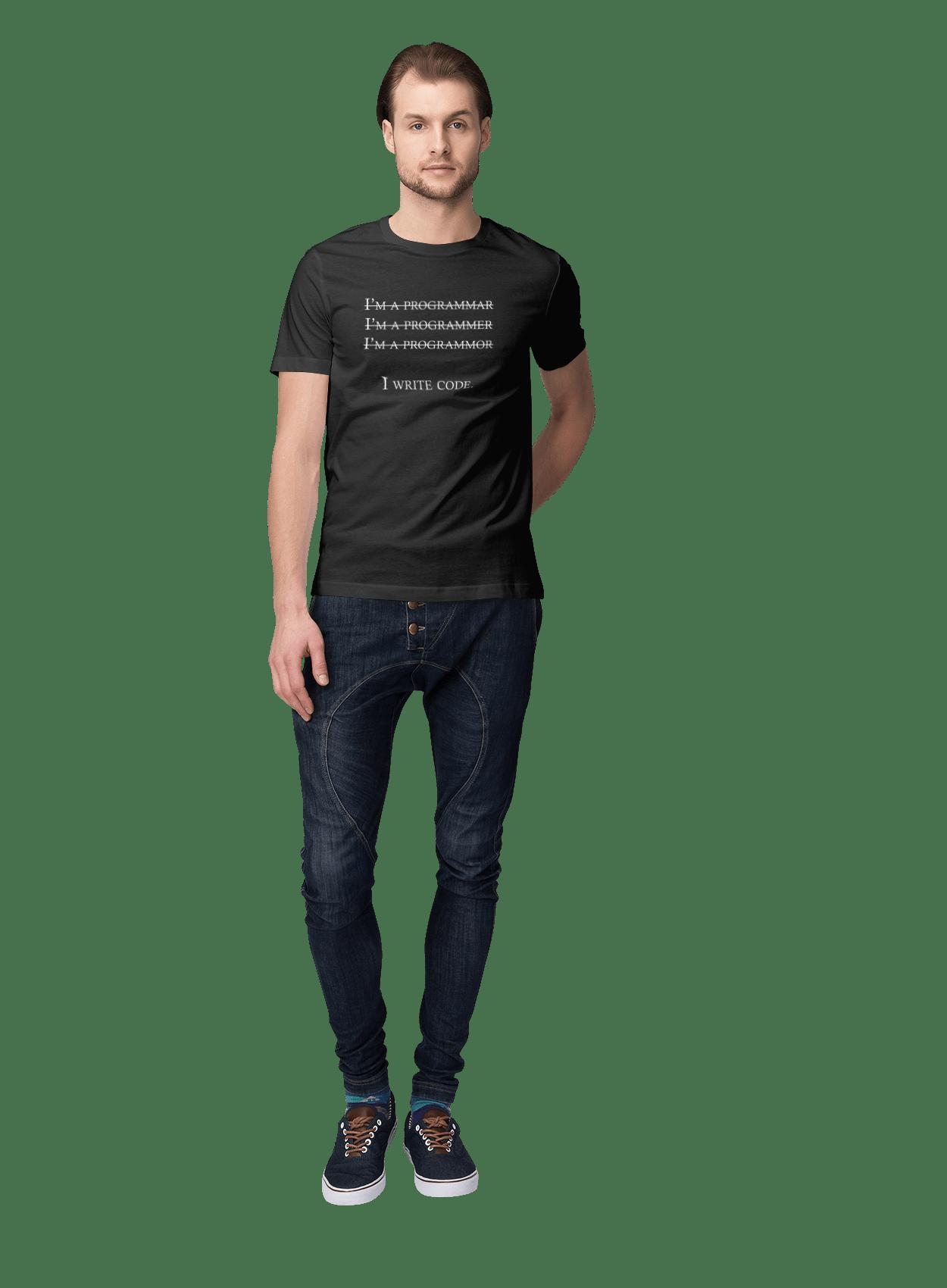Я Пишу Код, Програміст, Білий