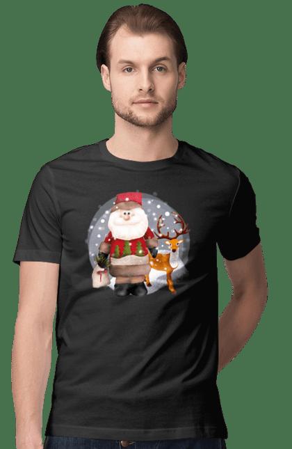 Санта з оленем