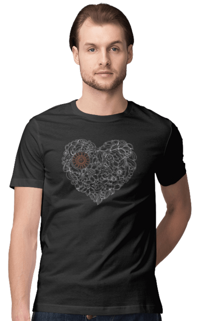 Серце Візерункове З Квітів