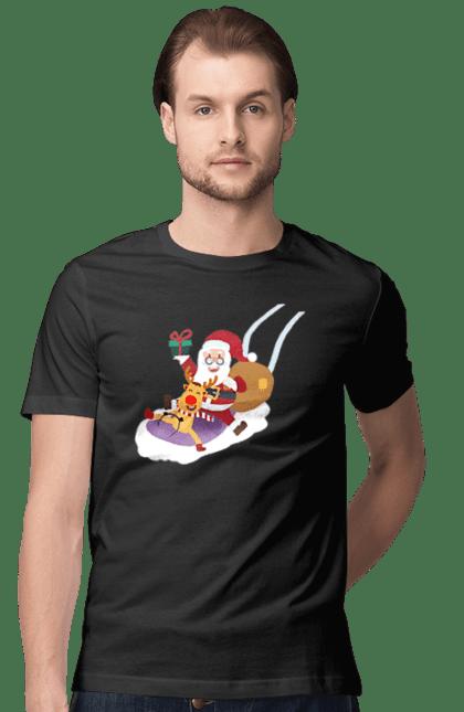 Олень і Санта Клаус