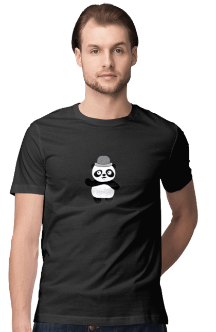 Панда в капелюсі
