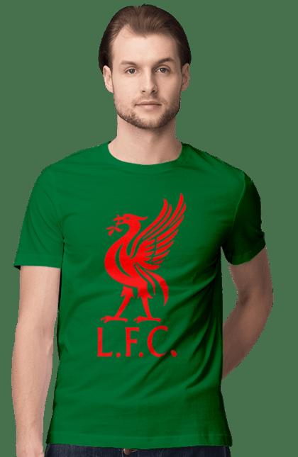 Футболка чоловіча з принтом L.F.C.. L.f.c.. BlackLine