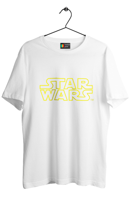 Star Wars Logo Yellow